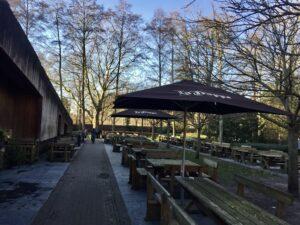 Außenbereich La Trappe
